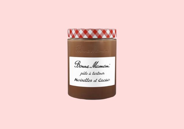 Pâtes à tartiner noisettes et cacao — Bonne Maman