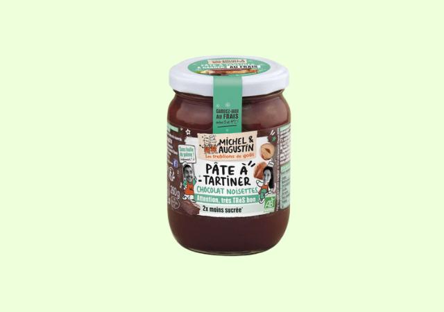 Pâte à tartiner chocolat noisettes— Michel & Augustin