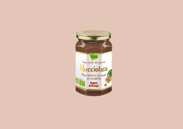 Pâte à tartiner au cacao et noisettes — Nocciolata