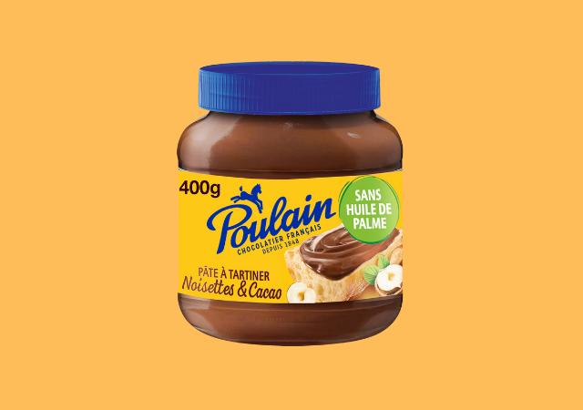 Pâte à tartiner Noisettes & Cacao — Poulain